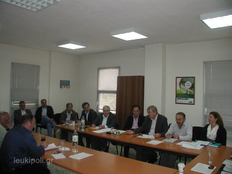 Σύσκεψη δημάρχων στην ΑΕΝΟΛ