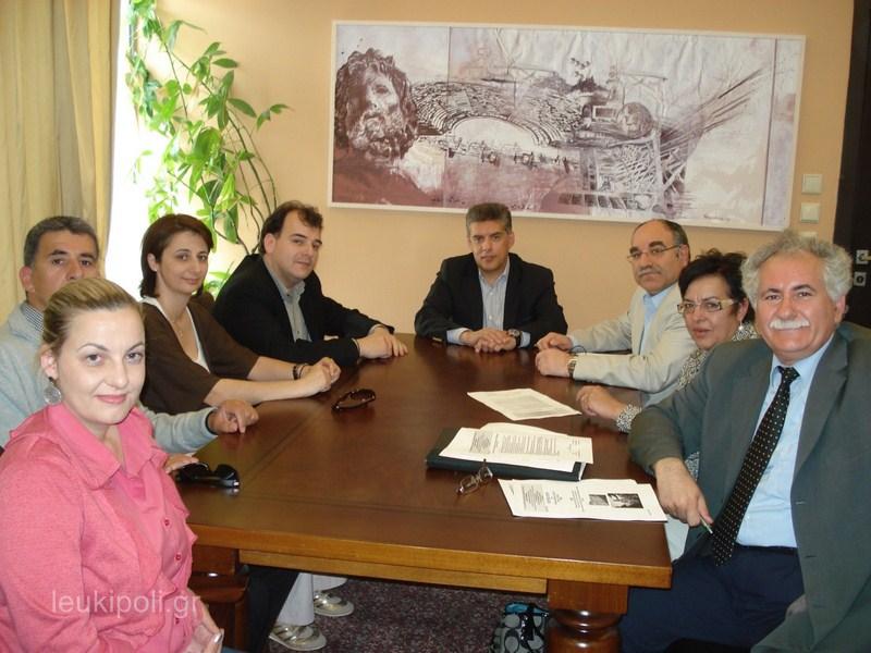 Επαφές Δικτύου Περραιβία για Ορειβατικό Κέντρο