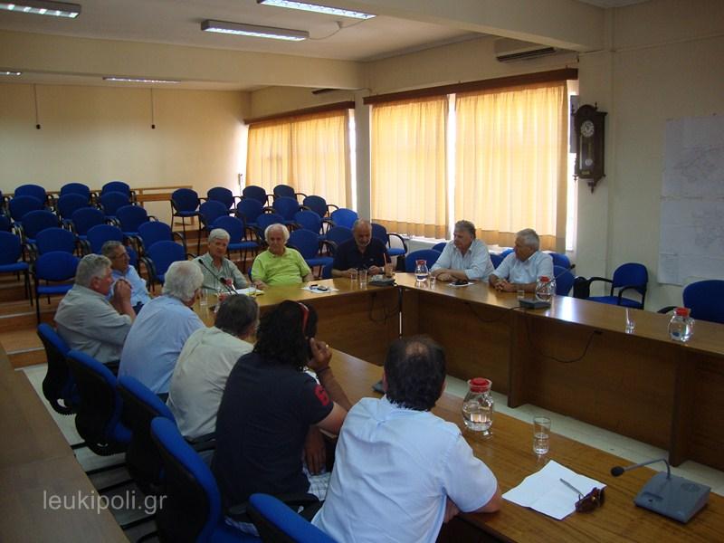 Σύσκεψη στο Δημαρχείο για τη διαχείριση ζωϊκών υπολειμμάτων