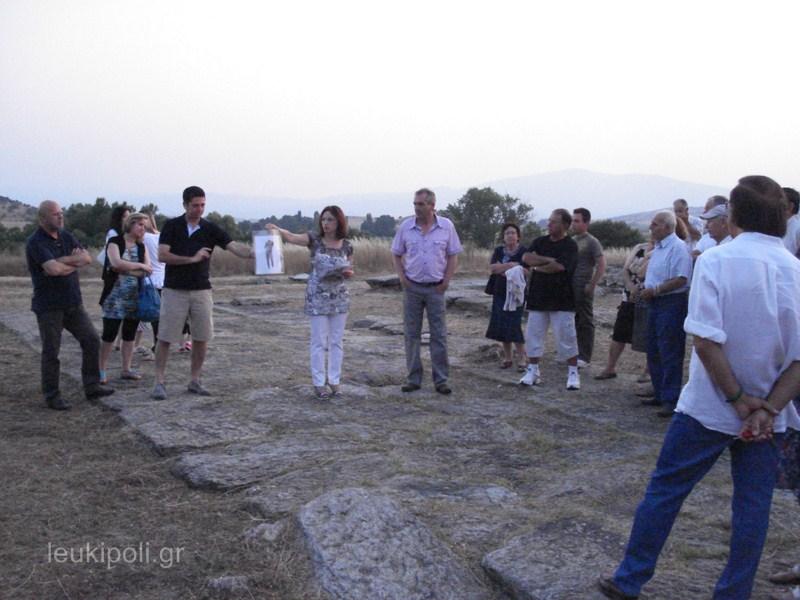 Γιόρτασαν την Πανσέληνο στον αρχαιολογικό χώρο Πυθίου