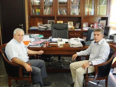 Συνεργασία Περιφέρειας – Δήμου για τα έργα της Ελασσόνας