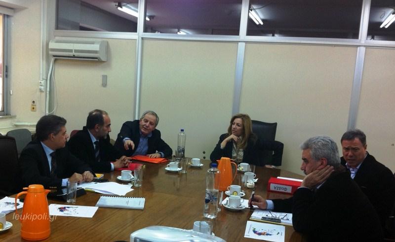 Σύσκεψη στο Υπουργείο Εσωτερικών για τη βελτίωση του προγράμματος «Καλλικράτης»