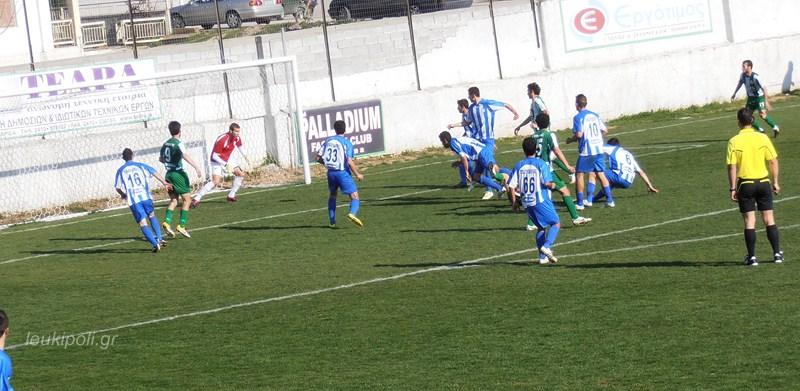 Ένταση και 0-0 στην Τσαριτσάνη