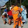 Διάσωση ηλικιωμένης από τους εθελοντές «Έλληνες Διασώστες»
