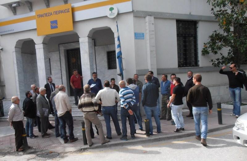 Διαμαρτυρήθηκαν οι κτηνοτρόφοι στην Ελασσόνα