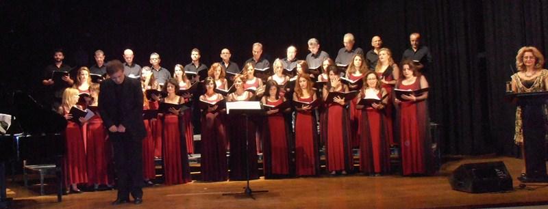 Εντυπωσίασε η χορωδία του Δ.Ω.Λ. στην Ελασσόνα