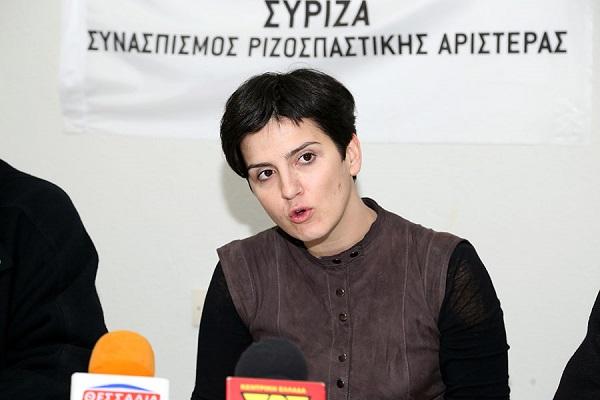Παραιτήθηκε η Ηρώ Διώτη από το ΣΥΡΙΖΑ