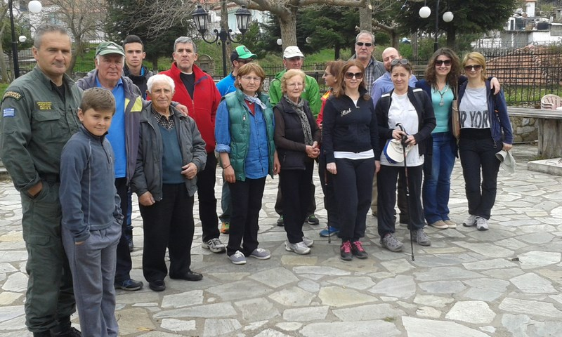 Πορεία στην Παλαιοσκαμνιά έκανε ο Χ.Ο.Σ. Σπαρμού