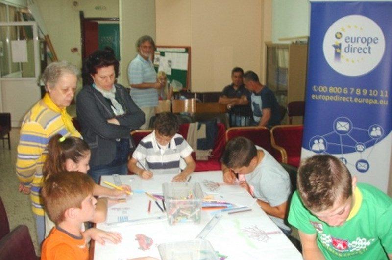Μαθητές σχολείων της Θεσσαλίας έφτιαξαν «Μια ζωγραφιά για την Ευρώπη»