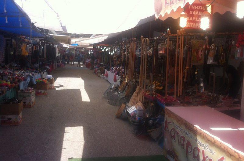 Ν. Ευαγγέλου: Ολοκληρώθηκαν οι παρεμβάσεις στο χώρο της εμποροπανήγυρης
