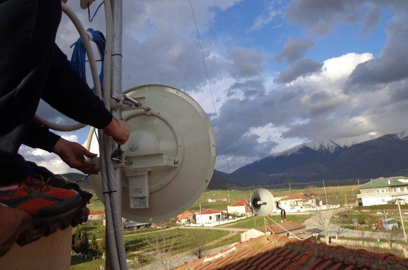 Νέα χρηματοδότηση για το ασύρματο δίκτυο της ομάδας Sarantaporo.gr