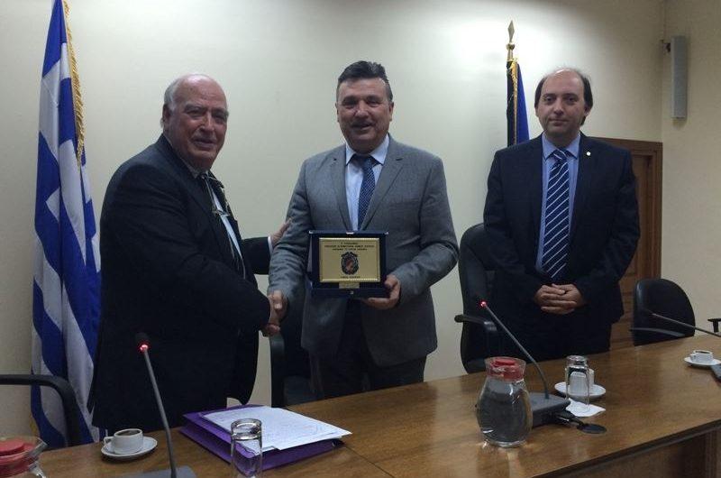 Το Δήμαρχο Ελασσόνας τίμησε η Ένωση Εφέδρων Αξιωματικών Ν. Λάρισας