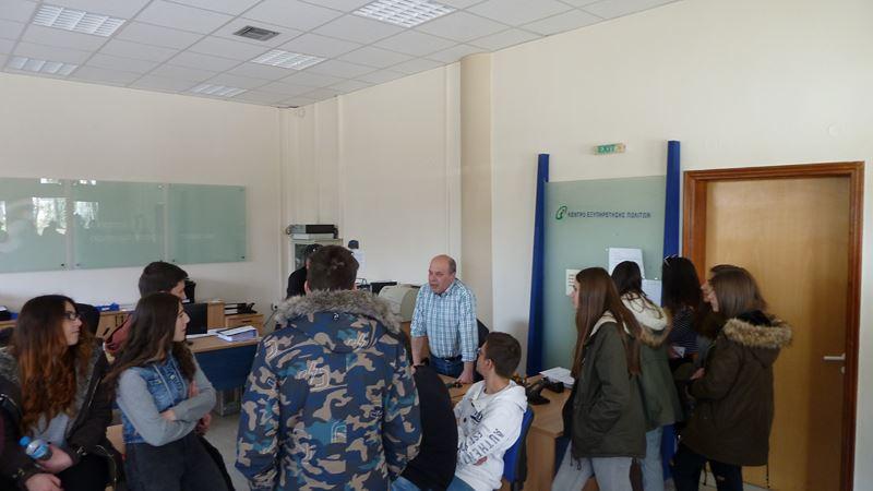 Μαθητές του 1ου Λυκείου επισκέφτηκαν το Δημαρχείο Ελασσόνας