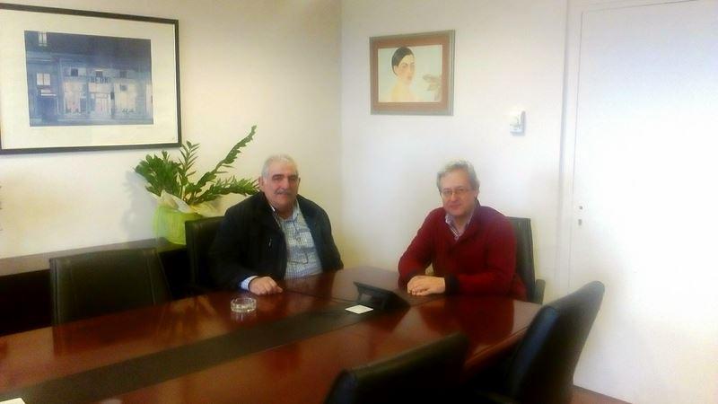 Νίκος Παπαδόπουλος με διοικητή 5ης ΥΠΕ και δήλωση για πρόωρες συντάξεις