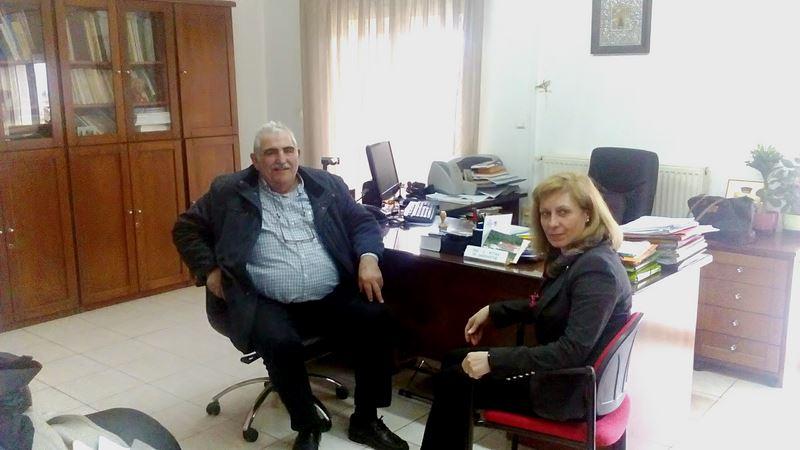 Επίσκεψη βουλευτή Νικ. Παπαδόπουλου στο Δασαρχείο Ελασσόνας