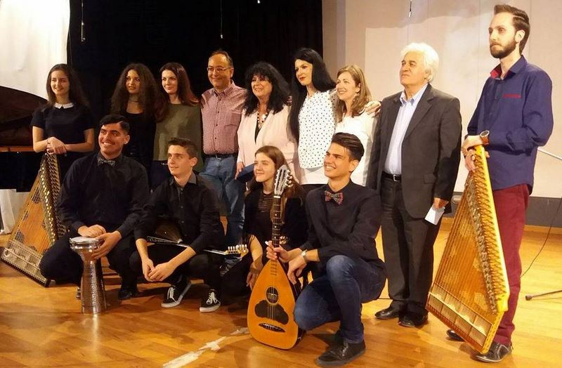 Βράβευση της Άννας Βαγενά από το Μουσικό Σχολείο Λάρισας