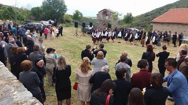 Σαρανταπορίτικη παράδοση στο μοναστήρι της Παναγίας