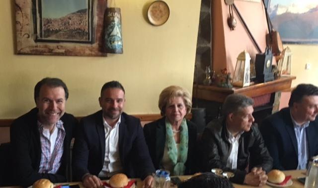 Στην τελετή παράδοσης του δρόμου Λιβάδι-Σαραντάπορο ο βουλευτής Γ. Κατσιαντώνης