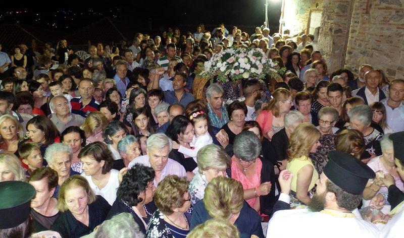 Χιλιάδες προσκυνητές στις Παναγίες της επαρχίας Ελασσόνας