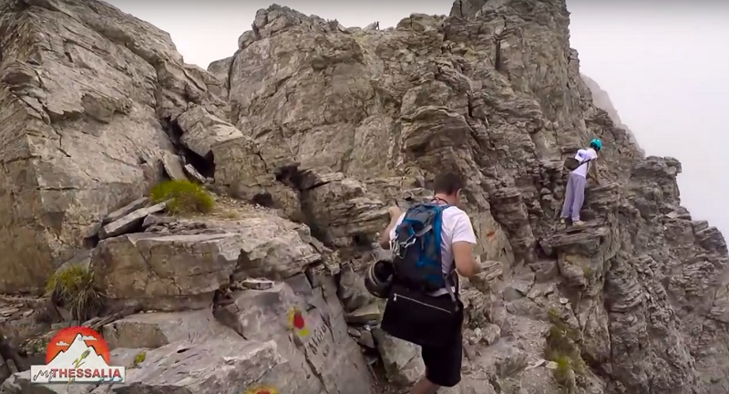 Εντυπωσιακό βίντεο από την ανάβαση στον Όλυμπο προς τιμήν του Ρίο 2016