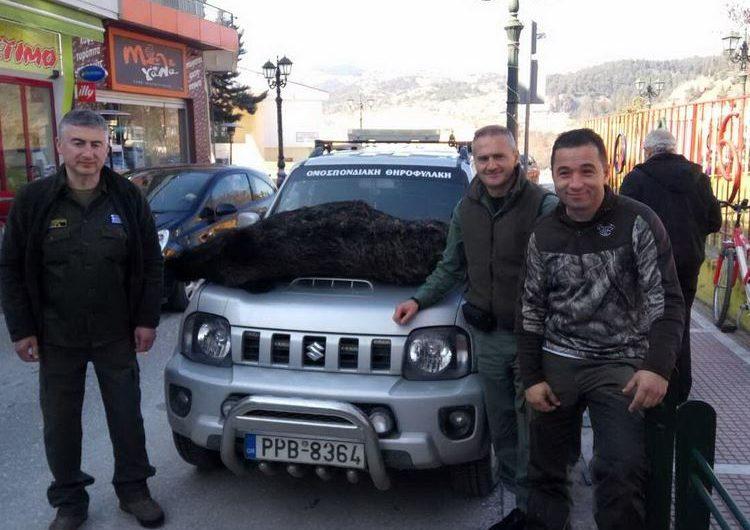 Συλλήψεις για λαθροθηρία σε περιοχή του Σαρανταπόρου