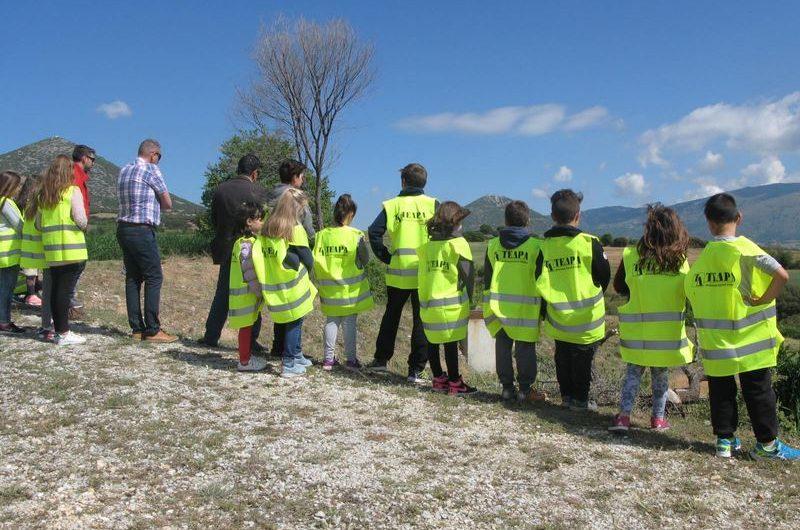 Επίσκεψη μαθητών στο Βιολογικό Καθαρισμό Σαρανταπόρου