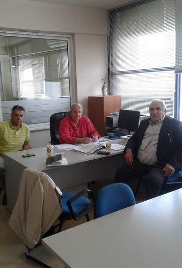 Επίσκεψη Βουλευτή ΣΥΡΙΖΑ Ν. Παπαδόπουλου στον ΟΑΕΕ  και στο ΙΚΑ Ν.Λάρισας
