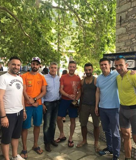 Στον 6ο «Faethon Olympus Marathon ο βουλευτής Γ. Κατσιαντώνης