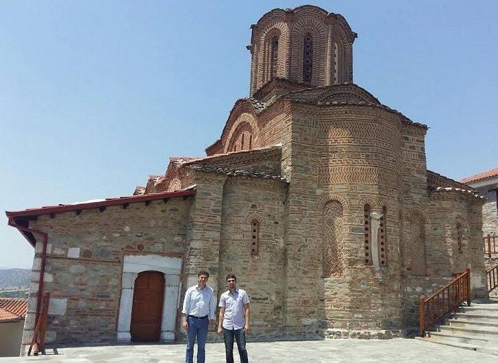 Ρώσοι δημοσιογράφοι στη Θεσσαλία – Επισκέφτηκαν και τη Μονή Ολυμπιώτισσας