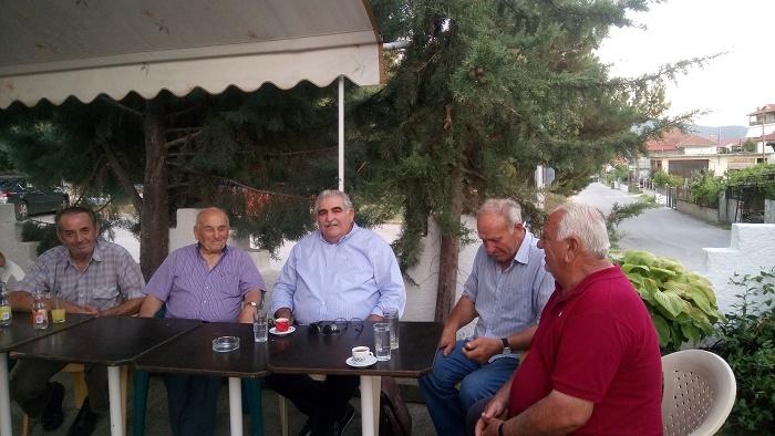 Στην Ολυμπιάδα Ελασσόνας ο βουλευτής ΣΥΡΙΖΑ Νίκος Παπαδόπουλος