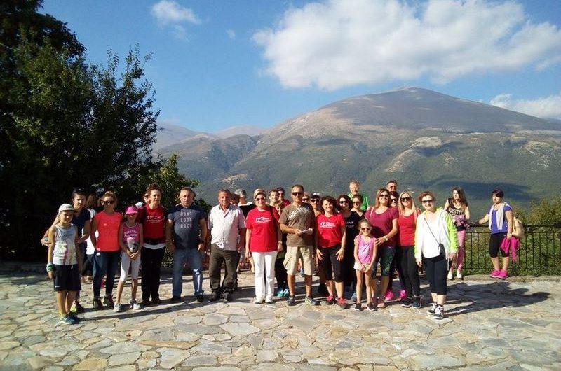 Περπατώντας στην Καρυά, τη Συκαμινέα και την Κρυόβρυση