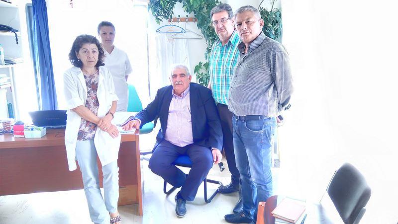 Ν. Παπαδόπουλος (ΣΥΡΙΖΑ): Επίσκεψη στα Κ.Υ. Ελασσόνας, Τυρνάβου, ΠΕΔΥ Λάρισας