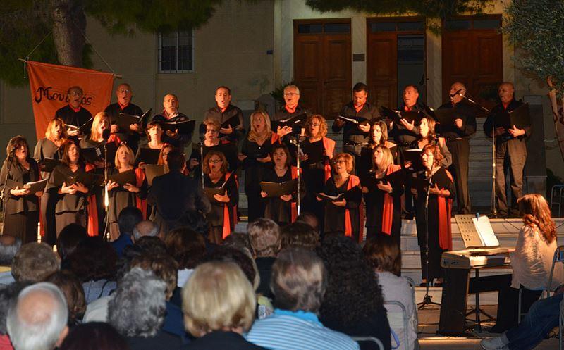 Εξαιρετική παρουσία στην Κάρυστο από τη χορωδία musicArte του Μουσικού Συλλόγου Ελασσόνας