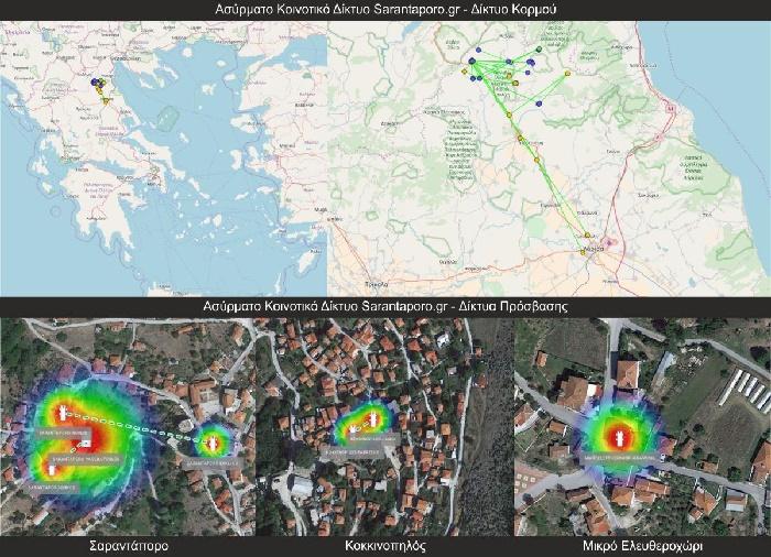 Αναβαθμίζεται το ασύρματο κοινοτικό δίκτυο Sarantaporo.gr