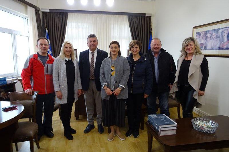 Συνάντηση Ν. Ευαγγέλου με νέο ΔΣ Εμπορικού Συλλόγου Ελασσόνας