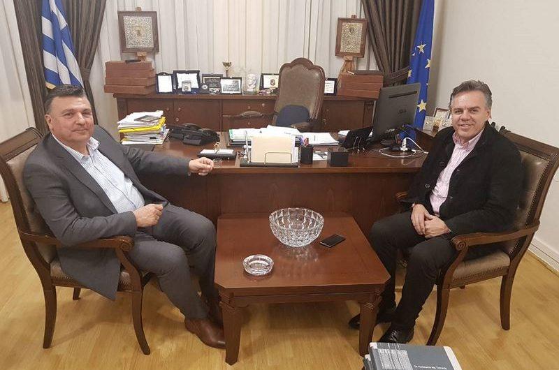 Στον Δήμαρχο Ελασσόνας ο επικεφαλής του συνδυασμού «Νέο ΕΠΙΜΕΛΗΤΗΡΙΟ» Βασ. Ζάρκος