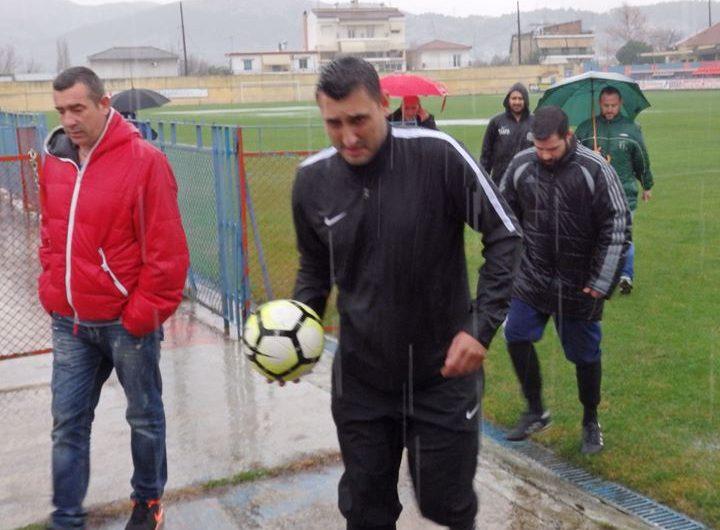 ΠΟΕ – Οικονόμος Τσαριτσάνης: Αναβολή στο ντέρμπι λόγω δυνατής βροχής