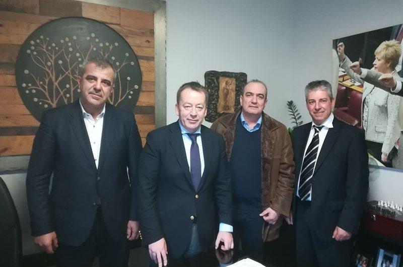 Με τον υφυπουργό αγροτικής ανάπτυξης συναντήθηκε ο Σύλλογος Σποροπαραγωγών
