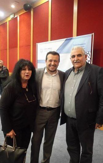 Βαγενά – Παπαδόπουλος στην παρουσίαση του νεοσύστατου Ελληνικού Διαστημικού Οργανισμού