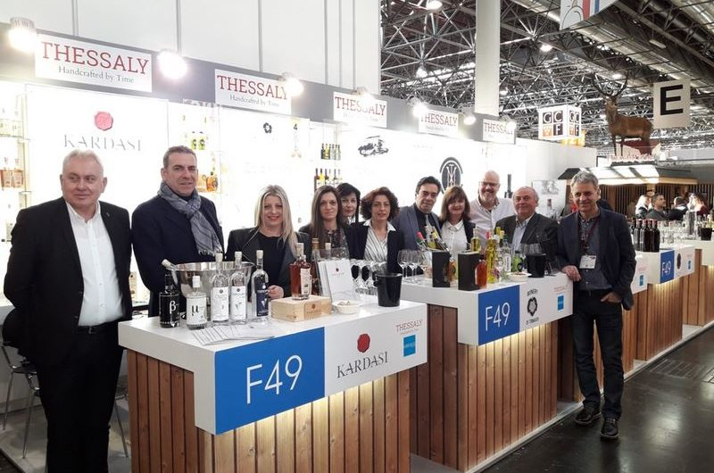 Δυναμική παρουσία της Περιφ. Θεσσαλίας στη σημαντικότερη διεθνή έκθεση οίνων και ποτών στον κόσμο, Prowein 2018
