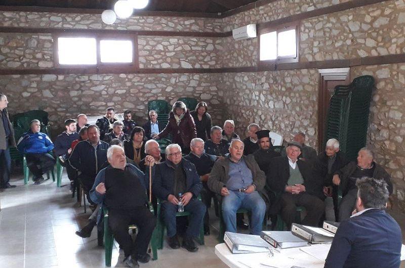 Συνέλευση των κατοίκων πραγματοποιήθηκε στη Δολίχη