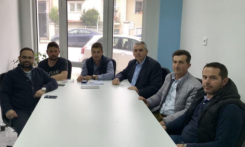 Συζήτησε με συνεταιριστές ο Μ. Χαρακόπουλος στην Ελασσόνα