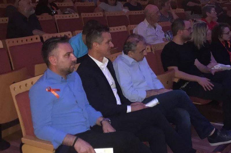Σε εκδήλωση για τη Σκλήρυνση Κατά Πλάκας ο βουλευτής Γ. Κατσιαντώνης