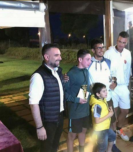 Στους τελικούς του Tennislife Club ο βουλευτής Γ. Κατσιαντώνης