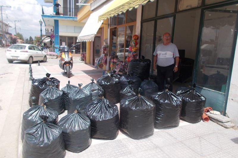 Συγκέντρωσαν καπάκια αλληλεγγύης στην Τσαριτσάνη