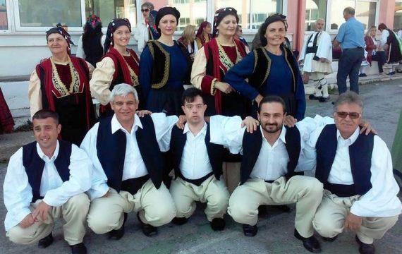 Στο Αντάμωμα Χορευτικών Ομάδων στον Πολύγυρο Χαλκιδικής ο Μ.Σ. Τσαριτσάνης