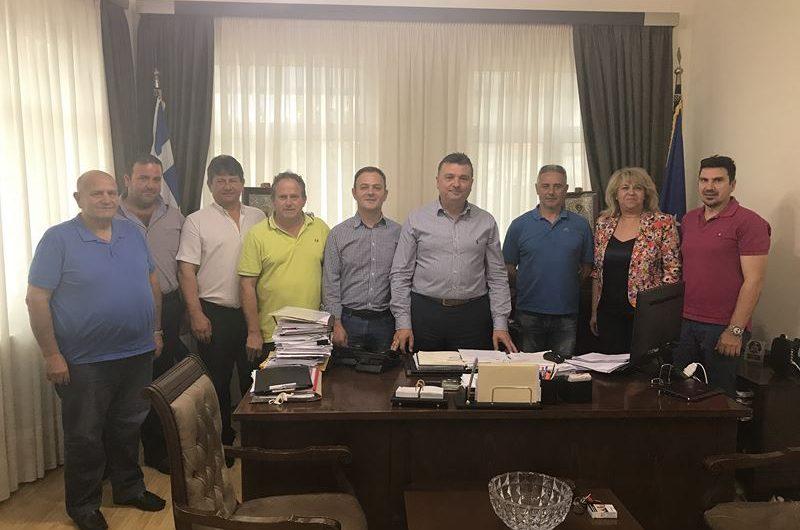 Επίσκεψη νέου συμβουλίου ΔΗΜΤΟ ΝΔ Ελασσόνας στο Ν. Ευαγγέλου
