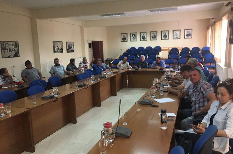 Ενημερώθηκαν οι πρόεδροι κοινοτήτων για τη λειτουργία Γαλακτοκομικής Σχολής