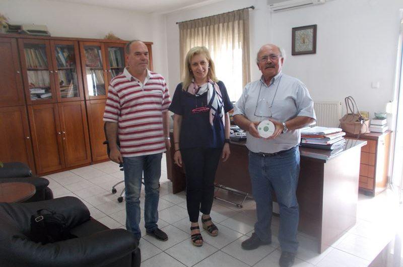 Στο Δασαρχείο Ελασσόνας η ψηφιακή καταγραφή των μονοπατιών από τον Εξωραϊστικό Σύλλογο Τσαριτσάνης