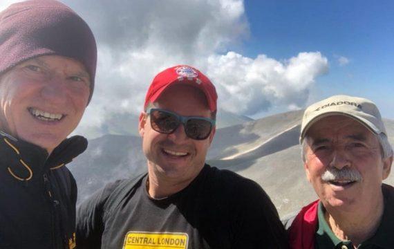 Ανάβαση Παπανδρέου – Σαχινίδη από την Ελασσόνα στα Καλύβια Ολύμπου